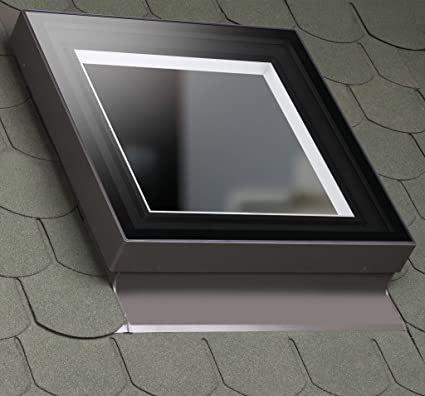 Fakro 80ep08 Fxc Curb Mounted Fixed Skylight 30x30 Rough Opening