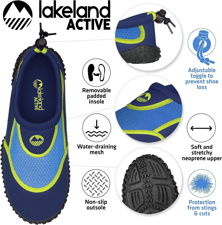 Lakeland Active Eden Aqua Zapatillas para ni/ños