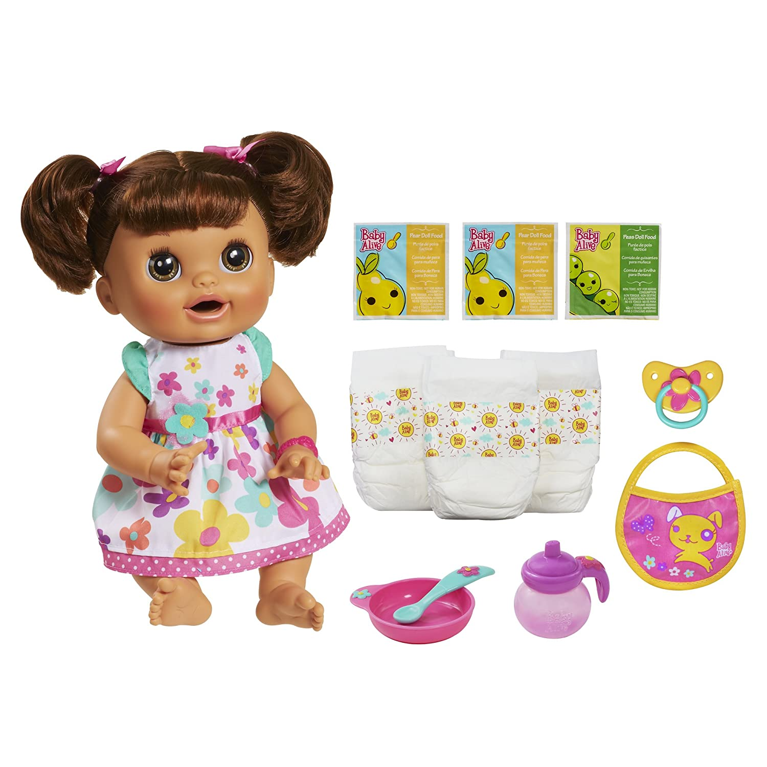 Amazon.com  Baby Alive Real Surprises Baby Doll(Discontinued by  manufacturer)  Toys   Games a9673f1ad4