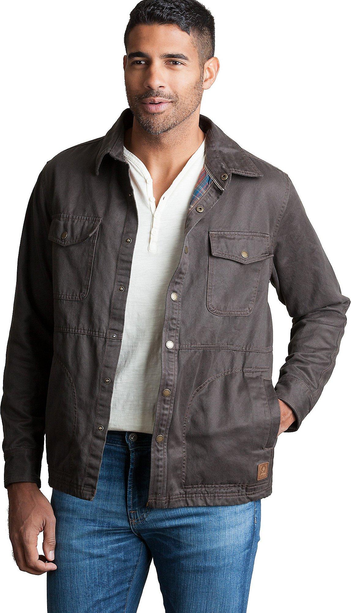 Westin Coated Cotton-Blend Jacket, Brown, Size XXLarge (50-52)
