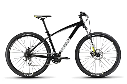 "ee40cab5d9f Diamondback Bicycles Overdrive 29er Complete READY RIDE Hardtail Mountain  Bike, 18""/Medium Black"