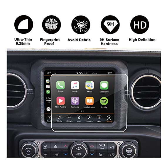 Amazon.com: 2018 Jeep Wrangler JL Uconnect Touch Screen Protector,