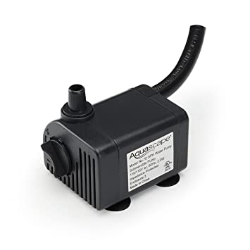 Aquascape Submersible 70 GPH Water Pump For Fountains, Waterfalls, Aquatics  And Filters | 91023
