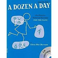 Dozen A Day (Book & CD)