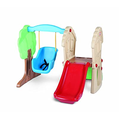 Little Tikes Hide and Seek Climber and Swing: Toys & Games