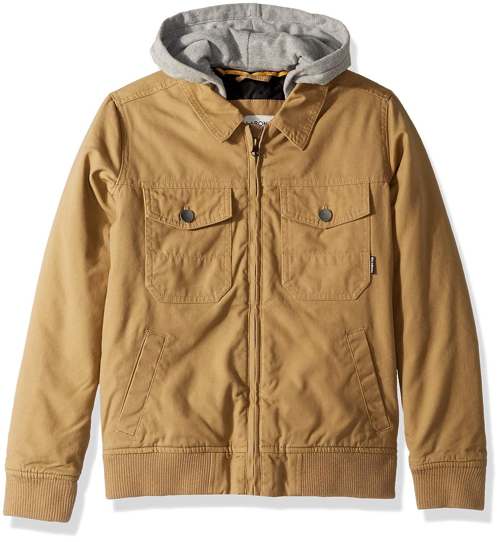 c4f3252cb Amazon.com: Billabong Boys Barlow Twill Jacket: Clothing