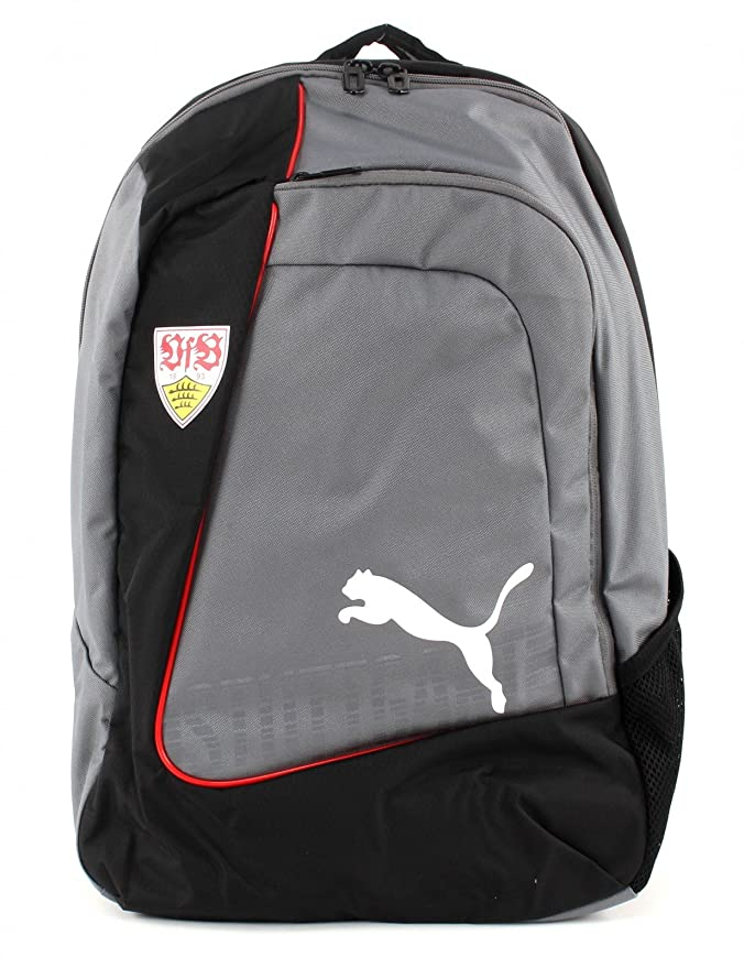 Puma VfB Stuttgart evoPower Backpack Fan Rucksack grau
