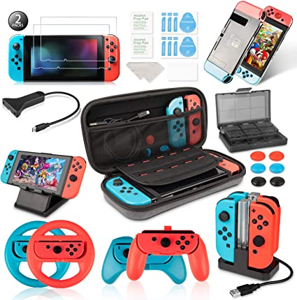 Keten Kit de Accesorios para Nintendo Switch: Amazon.es: Electrónica