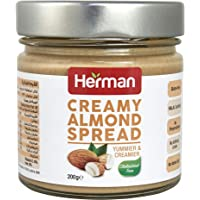 Herman Almond Spread Glass - 200 gms - glass