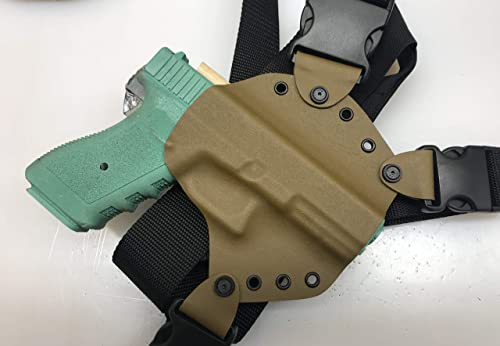Hosking Chest Holster for Glock MAS Coyote Brown