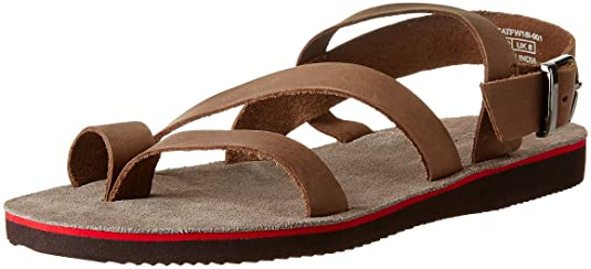 United Colors of Benetton Men's Leather Sandals and Floaters Men's Fashion Sandals at amazon