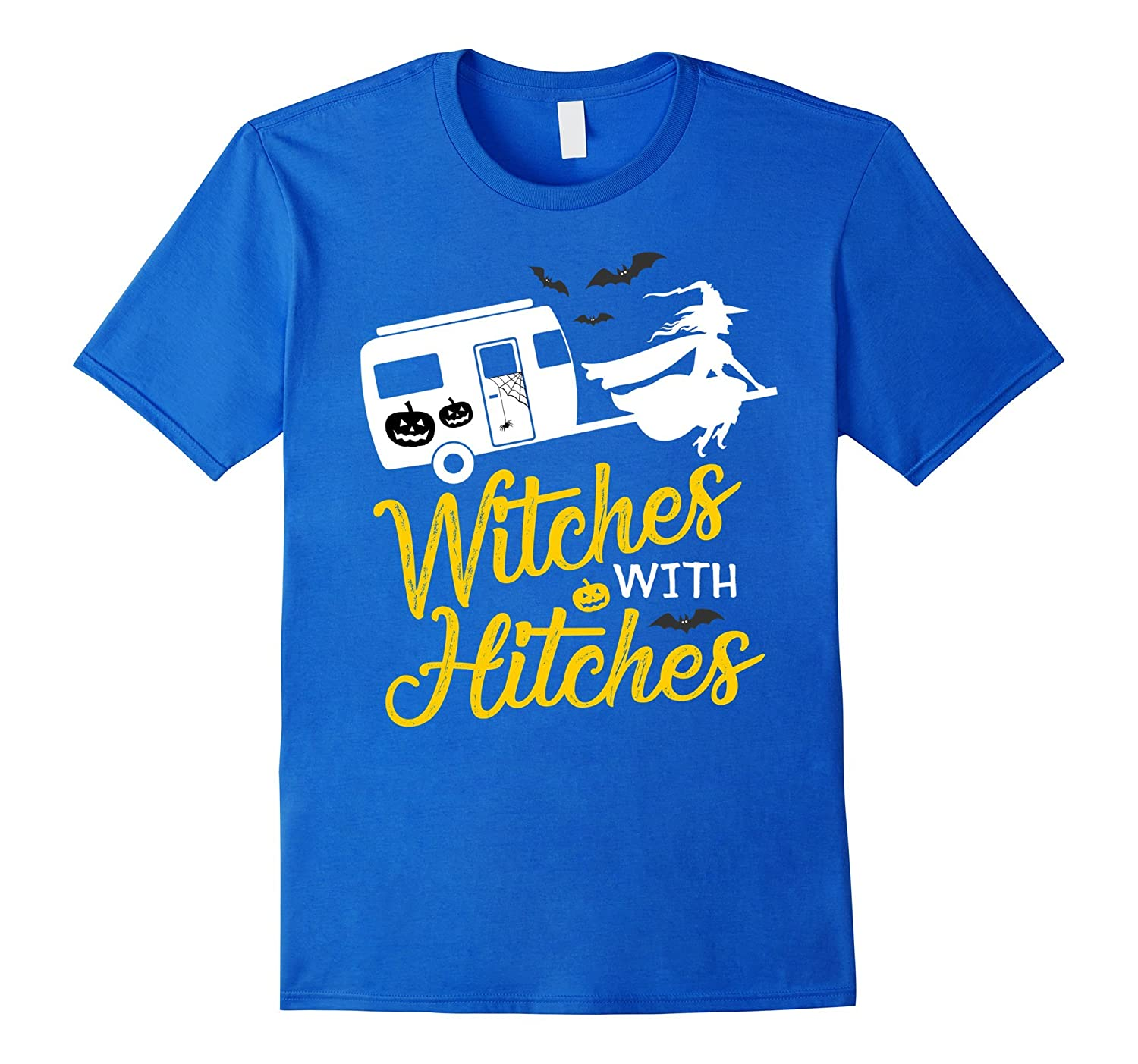 f8b93208 Witches With Hitches T-shirt Witch Riding Camping Car-FL ...