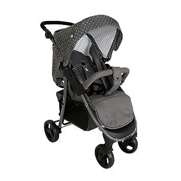 Mi Babiie Katie Piper MB30 triángulos carrito de bebé, color gris: Amazon.es: Bebé