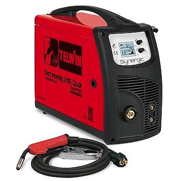 Telwin TE-615053 Equipo de Soldadura de Hilo, 2.2 W, 230 V, Rojo y negro: Amazon.es: Bricolaje y herramientas
