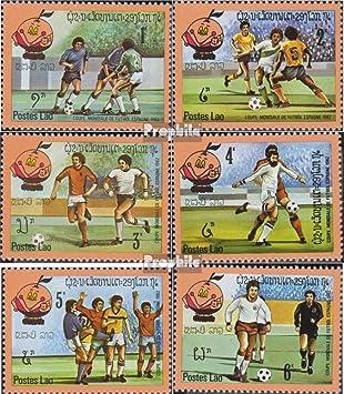 Prophila Collection Laos Michel.-No..: 547-552 (Completa.edición.) 1982 Fútbol-WM en España (Sellos para los coleccionistas) fútbol: Amazon.es: Juguetes y juegos