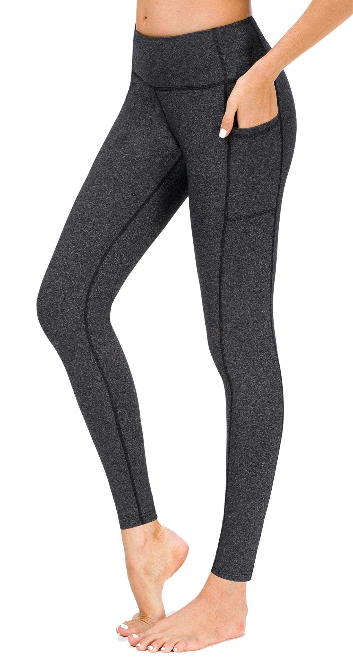 8cb4ad209d Sugar Pocket Women's Yoga Leggings Fitness Tights Workout Pants Gym Leggings  with Side Pocket product image