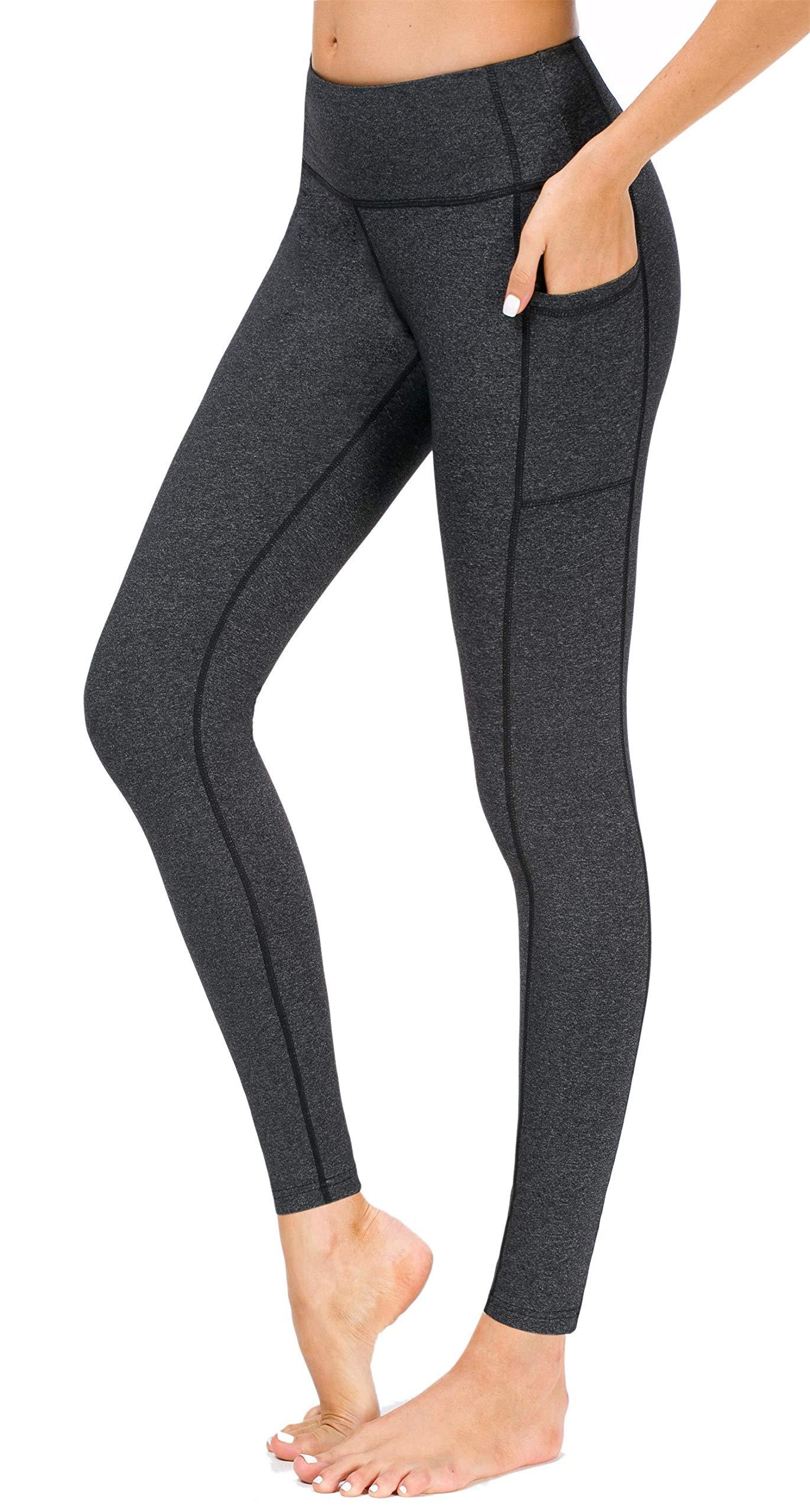 5df5bcc7da35f Sugar Pocket Women's Yoga Leggings Fitness Tights Workout Pants Gym Leggings  with Side Pocket product image