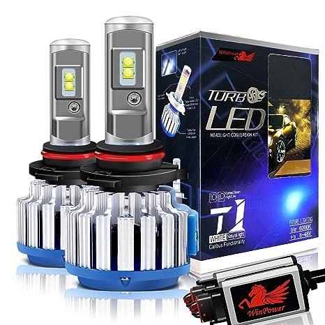 WinPower Hir2 / 9012 LED Bombillas de los faros Todo en uno Kit de conversión 70W