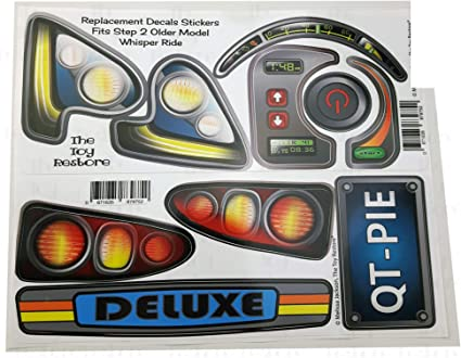 New Replacement Decals Fits Step 2 Whisper Ride NEW