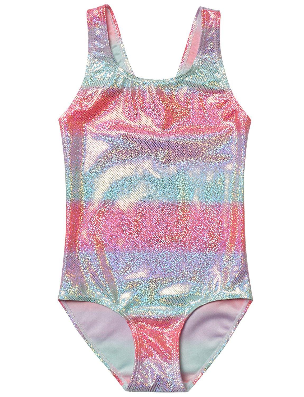 Jxstar One Piece Girls Mermaid Swimsuit Summer Kid-120