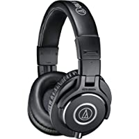 Audio-Technica ATH-M40X - Auriculares de diadema cerrados (40 mm, jack 3.5 mm, plegable), color negro