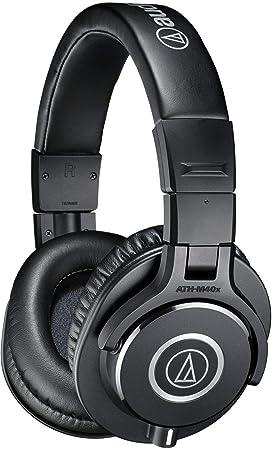 Audio Technica Ath M40x Casque Audio Professionnel Avec Câble