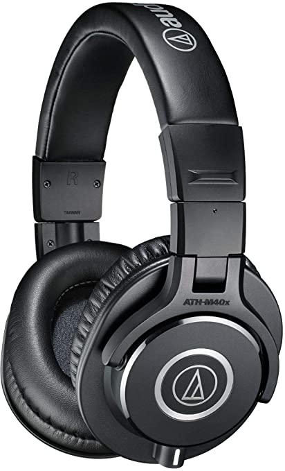 Audio Technica ATH M40x Professional Monitor Headphones