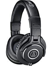 Audio-Technica ATH-M40x Professional Headphones, Black