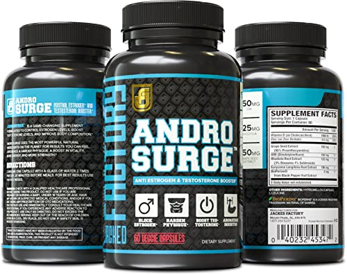 ANDROSURGE Estrogen Blocker for Men