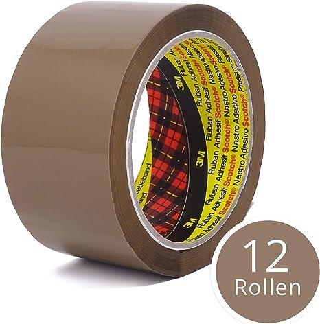 6/x rouleaux de ruban adh/ésif demballage Transparent/ /48/mm x 66/m