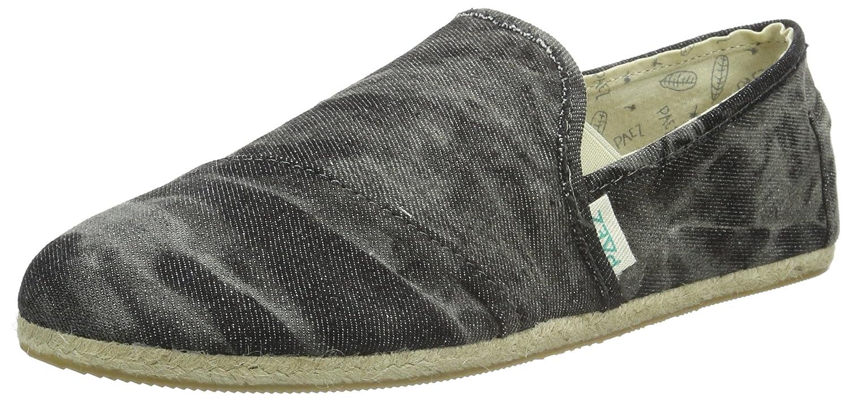 Paez Original Raw Slip-On Washed Denim, Alpargatas Unisex Adulto, Negro-Schwarz (Black 0010), 46 EU: Amazon.es: Zapatos y complementos