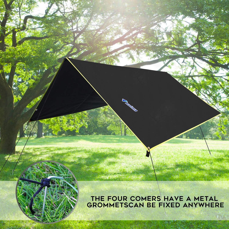 Waterproof Camping Tarp Lightweight Hammock Tarp Outdoor Awning Sun Shade  u Ц