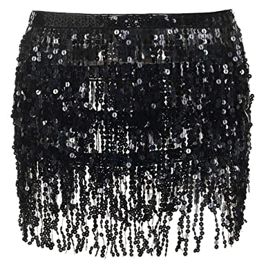 Fashion Style Tassles Mini Skirt Skirts Clothing, Shoes & Accessories