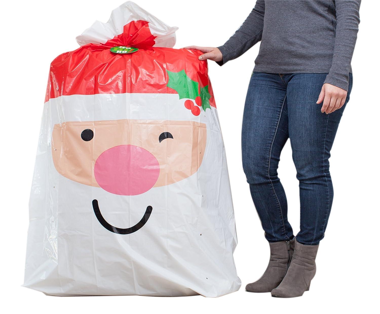 Amazon.com: Hallmark Jumbo Christmas Gift Bag (Santa): Kitchen & Dining