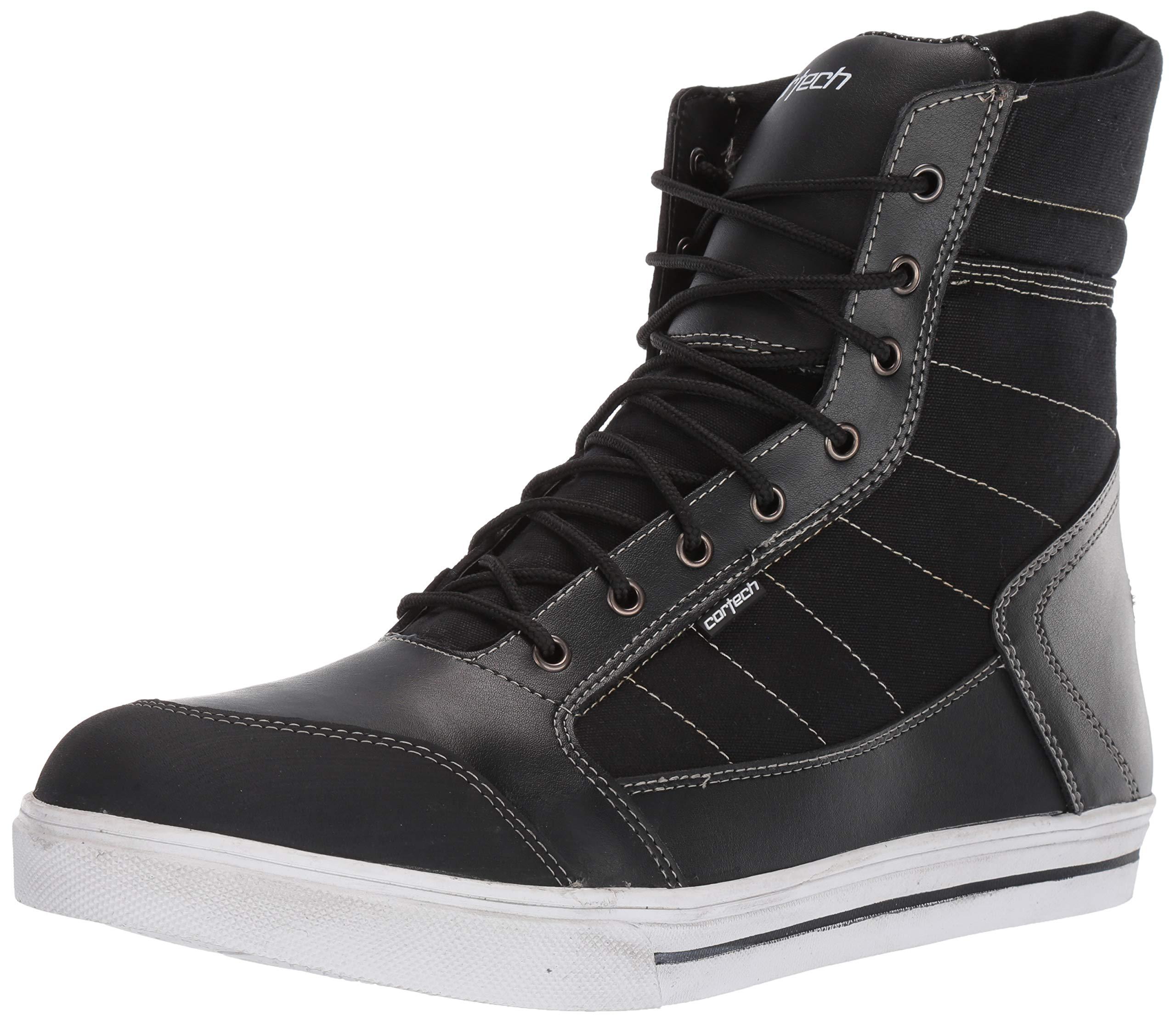Cortech Men's Vice WP Riding Shoe (White/Black, Size 13) by Cortech