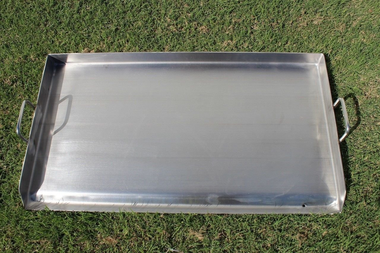 9TRADING 36'' x 22'' Stainless Steel Portable Add on Flat Top Griddle Outdoor Stove,Free Tax, Delivered Within 10 Days