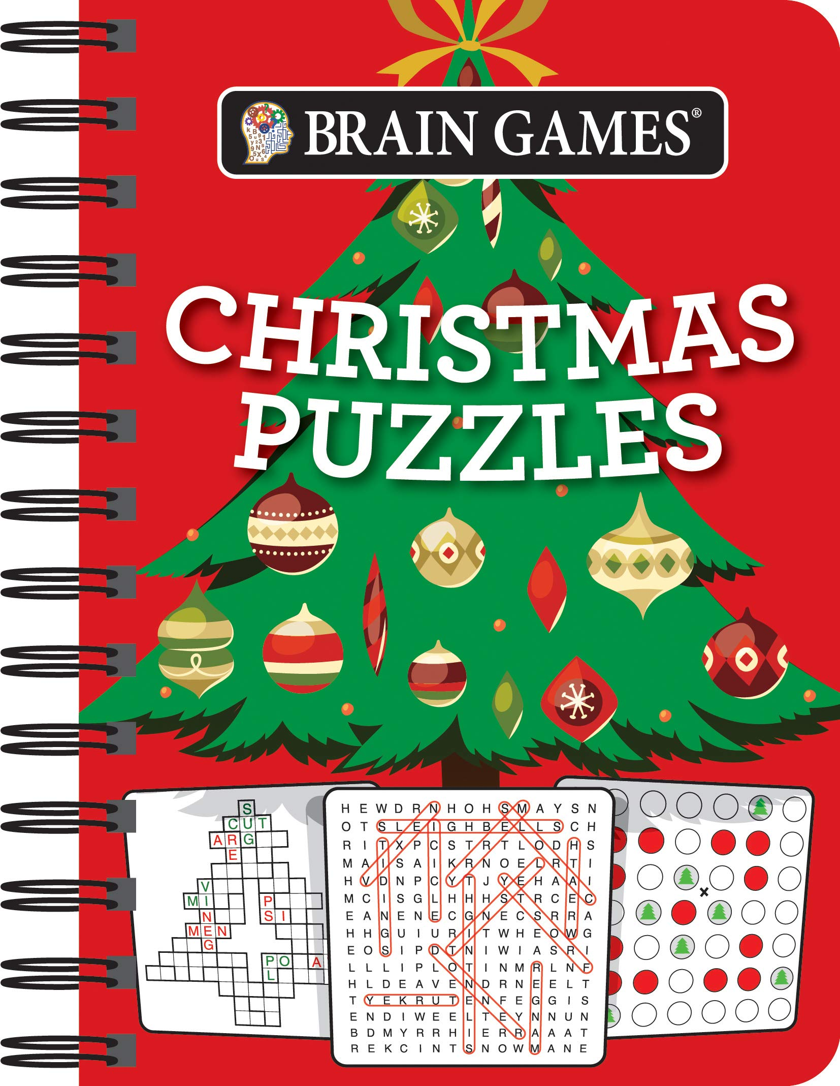 Brain Games Mini Christmas Puzzles product image