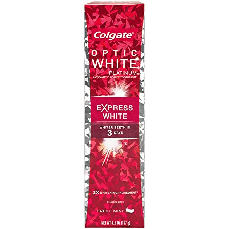 Colgate Optic White Express White Whitening Toothpaste – 4.5 ounce 6 Pack