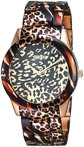 1c0df71d752a Guess Womens Multi dial Quartz Watch with Silicone Strap W0944L1  Guess   Amazon.co.uk  Watches