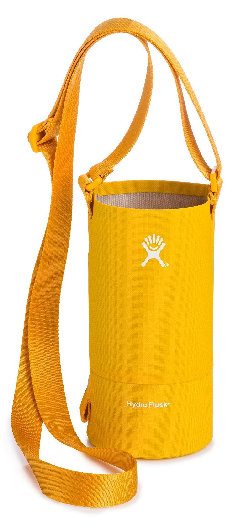 Hydro Flask Large Soft Sided Nylon Tag Along Water Bottle Sling with Pockets, Golden Rod (Fits 32 oz and 40 oz Bottles)