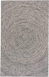 product image for Ecliptic Charcoal 8' x 10' Rectangle Hand Tufted Rug
