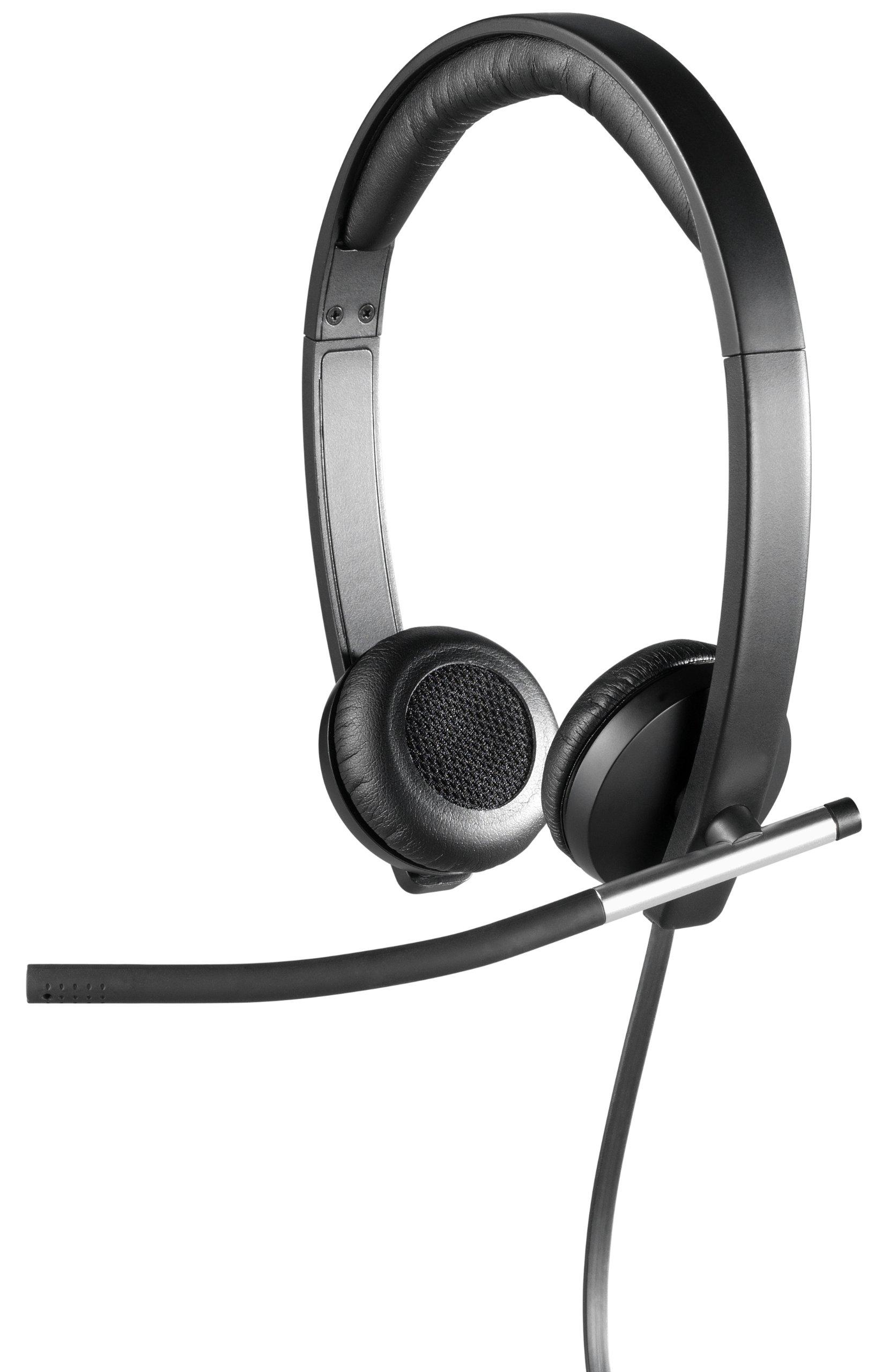 Auriculares Logitech USB Headset Stereo H650e
