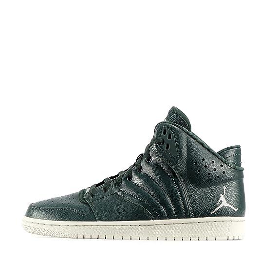 plutôt sympa d5a08 681e3 Nike Nike Jordan 1 Flight 4, Baskets mode pour homme vert ...