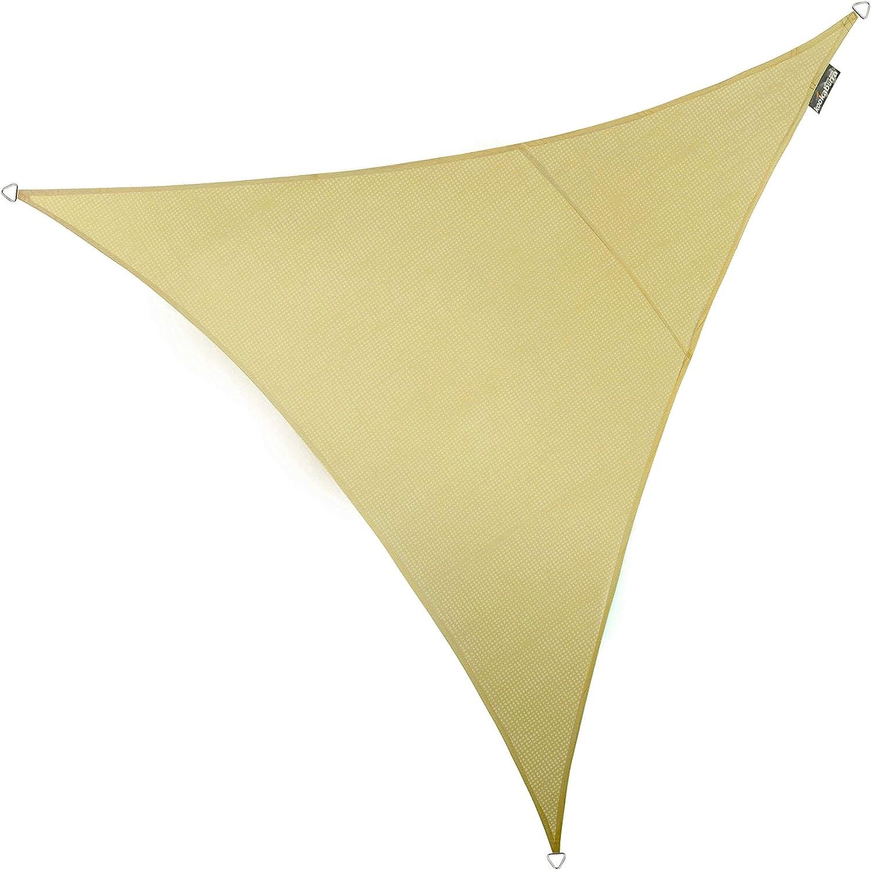 Kookaburra Breathable Sun Sail Shade – Sand – 16ft 5 Triangular