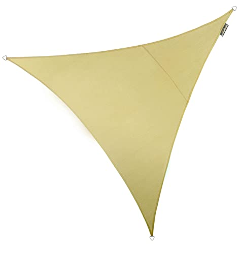 Kookaburra Breathable Sun Sail Shade – Sand – 16ft 5 Triangular