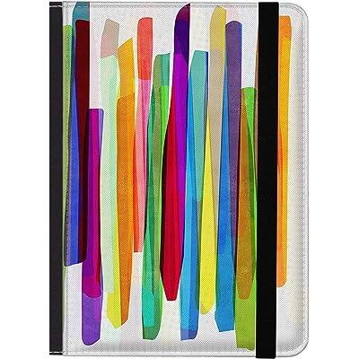 caseable - Funda para Kindle y Kindle Paperwhite, diseño Colourful Stripes 1