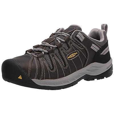 KEEN Utility Men\'s Flint II Low Steel Toe Work Shoes | Boots [3Bkhe0901959]