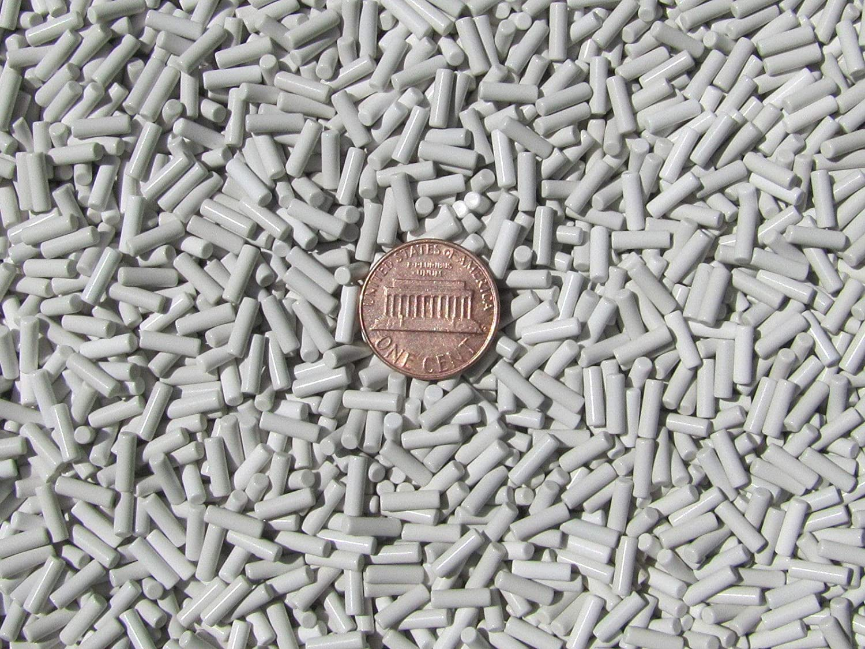 Ceramic Tumbling Media 6 Lb 2.5 mm X 8 mm Polishing Pins Non-Abrasive