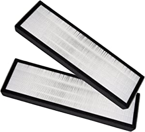 Ximoon 2 Pack HEPA Filters Replacement for GermGuardian Air Purifier AC4825/AC4300/AC4800/AC4900 and FLT4825 Filter B