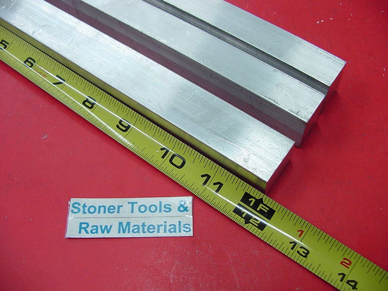 3 Pieces 3//4 X 1 ALUMINUM 6061 FLAT BAR 12 long .750 Solid New Mill Stock